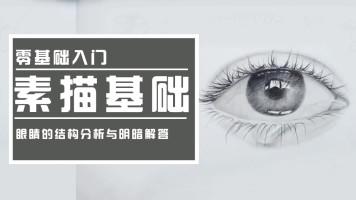 【视频】零基础眼睛光影分析/素描基础/静物风景/水彩油画