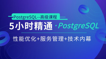 5小时快速精通PostgreSQL