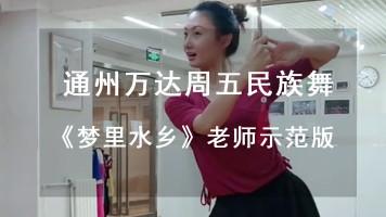 民族舞《梦里水乡》老师示范教学