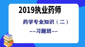 2019执业药师-药学专业知识(二)习题班