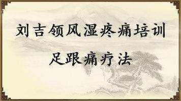 刘吉领风湿疼痛培训——足跟痛