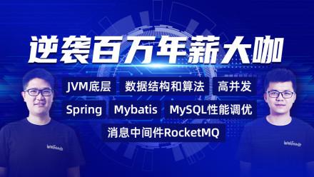 逆袭百万年薪大咖 JVM 算法 高并发 微服务 MySQL Spring Mybatis