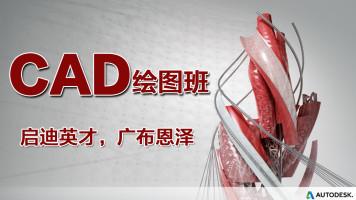 CAD绘图班平面+三维【机械/建筑/家具等必学】作业+解答+学习监督