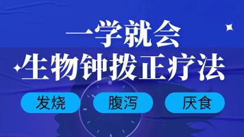 中医生物钟拨正法-经络穴位辩证-自我疗愈技术