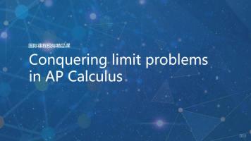 Conquering limit problems in AP Calculus