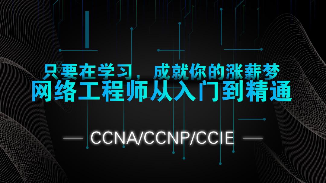 网络工程师从零基础到精通-CCNA/CCNP/CCIE
