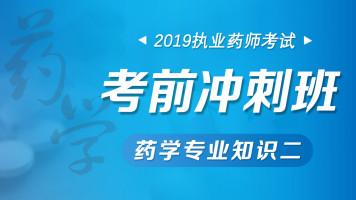 2019药学专业知识(二)考前冲刺班