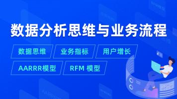 【拉勾教育】数据思维 业务指标 用户增长 AARRR模型 RFM 模型