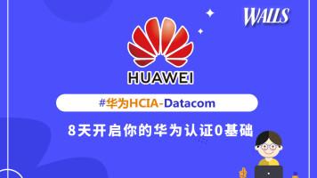华尔思华为HCIA-datacom课程0基础培训