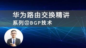 华为HCNP/HCIP路由交换精讲系列22BGP技术视频课程(肖哥)