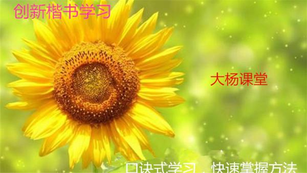 小学语文网课,写好语文写字练习,掌握偏旁部首写法,写好汉字