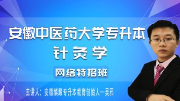 安徽中医药大学针灸学专升本网络课程