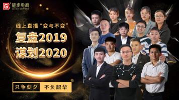 硅步电商 复盘2019  谋划2020  全网直播  2020年1月12日