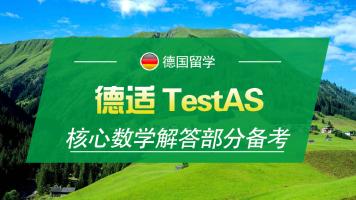 德适TestAS核心数学解答部分备考