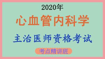 [中级职称]【临床内科】2020年心血管内科学主治医师考点精讲课