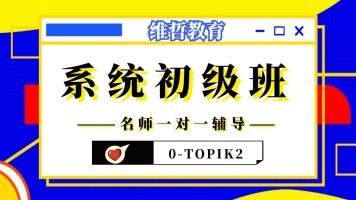 维哲韩语VIP系统班初级3