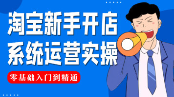 【公开课】淘宝开店/搜索排名/免费流量/直通车数据分析/打造爆款
