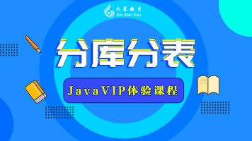 JavaVIP体验课-分库分表【六星教育】