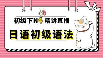 日语初级N4词汇 语法精讲