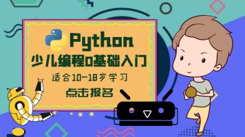 Python青少年中小学孩子儿童少儿基础编程0基础快速入门课程