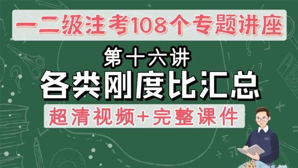 16各类刚度比汇总【朗筑注册结构工程师考试规范专题班】