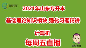 2021年山东专升本计算机基础理论强化习题精讲