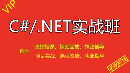 C#/.NET零基础入门到精通VIP实战班(Winform/Sql/WebApi/MVC/Vue)