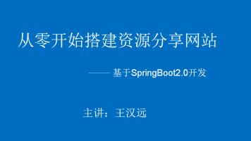 手把手教你做一个基于SpringBoot的资源分享网站(可商用)