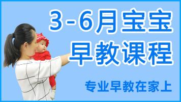 3-6月系统早教课程,如何在家给小宝宝玩早教游戏,专业视频课程
