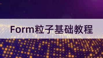 FORM粒子基础教程