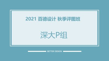 2021评图班【深大P组】
