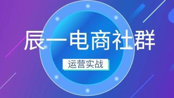 【鑫巢教育】辰一电商社群专注淘宝天猫实战运营