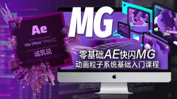影视后期视频剪辑AE快闪MG动画粒子系统基础入门课程【诚筑说】