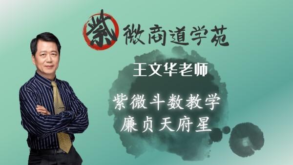06王文华老师紫微斗数初级篇-廉贞天府星