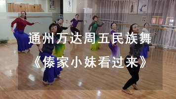 傣族舞《傣家小妹走过来》教学视频