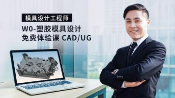 W0-塑胶模具设计 免费体验课 CAD/UG
