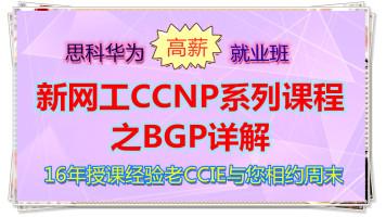 新网工CCNP系列课程之BGP详解