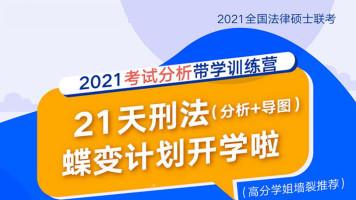 2021考研专业课丨文都敏行法硕21天考试分析刑法带学训练营