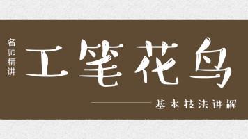 【视频】工笔花鸟/写意山水/书法国画-【花鸟】