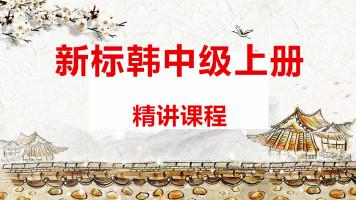 新标准韩国语中级上精讲视频(提供答疑指导)【小鹿韩语】