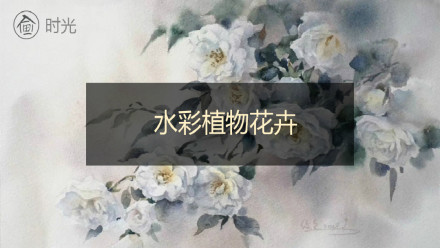 水彩植物花卉课