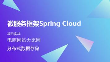 Spring Cloud微服务项目实战: 分布式数据存储