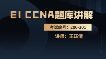 EI CCNA题库讲解视频+注释 编号:200-301