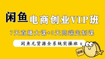 2021闲鱼无货源电商实战超级培训VIP班10天直播课【风鹏电商】