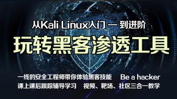 Kali渗透全方位实战/黑客/linux/网络安全/信息安全/渗透测试