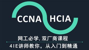 5IE讲师,思科/华为双厂商全套课程-CCNA/HCIA/CCNP/CCIE