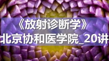 K7126_《放射诊断学》_北京协和医学院_20讲