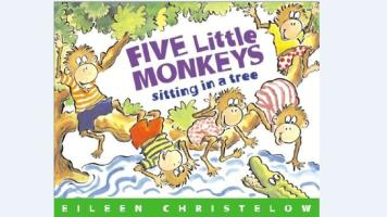韵律儿歌 | 廖彩杏书单 Five Little Monkeys Sitting in a Tree
