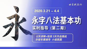 楷书毛笔书法【永字八法】入门基本功软笔训练课 第二期