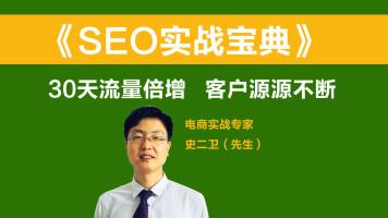 SEO实战宝典 30天流量倍增 客户源源不断seo优化关键词优化排名